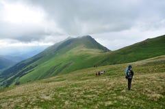 Arkhyz. Pas Sofia. De Bergen van de Kaukasus Stock Afbeelding
