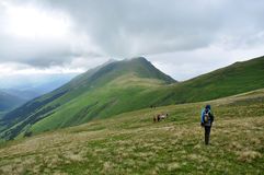 Arkhyz. Passe Sófia. Montanhas de Cáucaso Imagem de Stock