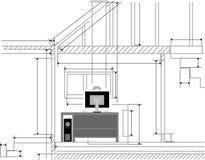 arkitekt stock illustrationer