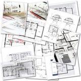 Arkitektarbete Royaltyfria Bilder