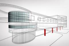Arkitektonisk bakgrund Arkivfoto