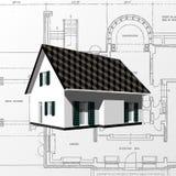arkitektonisk bakgrundsvektor vektor illustrationer