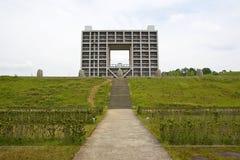 arkitektonisk complex Arkivbilder