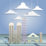 Arkitektonisk design vektor illustrationer
