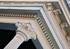 arkitektonisk detalj Arkivbild