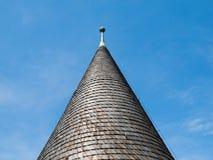 Arkitektonisk detalj av det koniska taket Royaltyfria Bilder