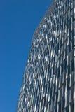 Arkitektonisk detalj av en modern byggnad Fotografering för Bildbyråer