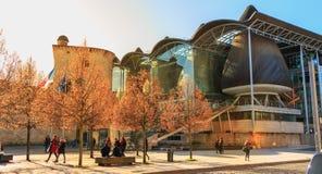 Arkitektonisk detalj av högre domstol av Bordeaux arkivfoto