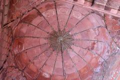 Arkitektonisk detalj av Jama Masjid Mosque, Delhi arkivfoton
