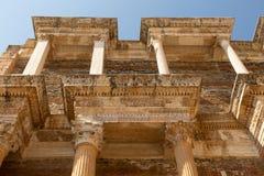 Arkitektonisk detalj av skolan i forntida Sardis royaltyfri bild