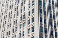 Arkitektonisk detalj av skyskrapan fotografering för bildbyråer