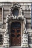 Arkitektonisk detalj från Belgrade, Serbien arkivbild