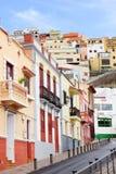 Arkitektonisk detalj i San Sebastian de la Gomera Royaltyfri Foto