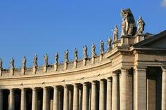 arkitektonisk detalj vatican royaltyfri bild