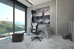 Arkitektonisk inredesign för en inrikesdepartementet Royaltyfria Bilder