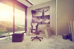 Arkitektonisk inredesign för en inrikesdepartementet Arkivbilder