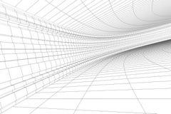 arkitektonisk konstruktion 3d Arkivbild