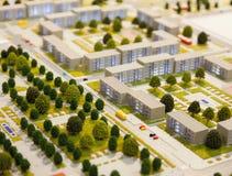 Arkitektonisk modell arkivbilder