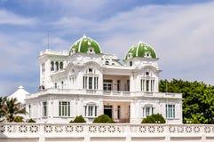Arkitektonisk spansk kolonial stil royaltyfria bilder