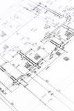 arkitektonisk textur för bakgrundsgolvplan Royaltyfri Fotografi