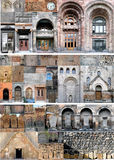 arkitektoniska armenia fragment Royaltyfri Foto