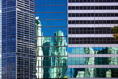 arkitektoniska contrasts miami Arkivfoton