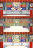 Arkitektoniska dekorativa modeller Royaltyfri Fotografi