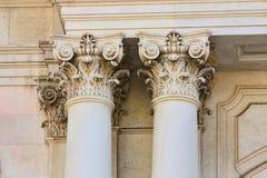 arkitektoniska detaljer Arkivbild