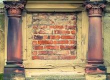 Arkitektoniska detaljer Fotografering för Bildbyråer