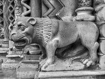 Arkitektoniska detaljer i Budapest royaltyfri bild