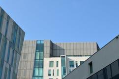 Arkitektoniska detaljer och fönster Arkivbilder