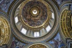 Arkitektoniska detaljer och inre av det kyrkliga helgonet Agnes in sedan Royaltyfria Foton