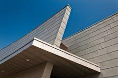 Arkitektoniska detaljer på den nya besökaren centrerar på fortet McHenry, Baltimore, Maryland Fotografering för Bildbyråer