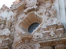Arkitektoniska detaljer - San Diego CA Arkivbild