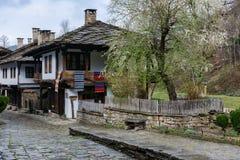 Arkitektoniska ethnographic komplexa Etara, Bulgarien Royaltyfria Bilder