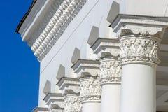 arkitektoniska klassiska kolonner Royaltyfria Bilder