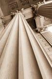 Arkitektoniska kolonner Royaltyfri Foto