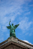 Arkitektoniska konstnärliga garneringar på den Hofburg slotten Arkivbild