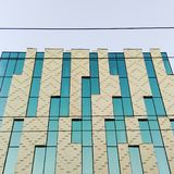 Arkitektoniska tetris Fotografering för Bildbyråer