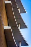 Arkitektoniskt abstrakt begrepp i i stadens centrum Wilmington, Delaware Royaltyfri Bild