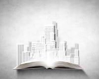arkitektoniskt byggnadsbegrepp som engineering mitt personliga projekt Arkivfoto