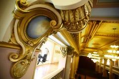 arkitektoniskt byggnadsdetaljtak Royaltyfri Foto