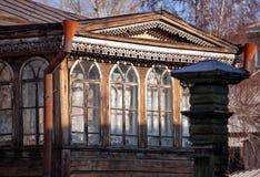 arkitektoniskt byggnadsdetaljtak Royaltyfria Bilder