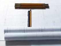 arkitektoniskt delprojekt vektor illustrationer