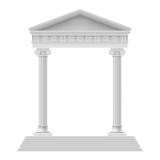 Arkitektoniskt element Arkivfoton