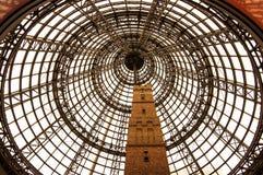 Arkitektoniskt förundra sig på Melbourne Arkivfoto