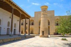 Arkitektoniskt komplex för forntida Muslim, Uzbekistan arkivbilder