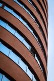 Arkitektoniskt specificera av en modern byggnad Arkivbilder