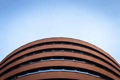 Arkitektoniskt specificera av en modern byggnad Royaltyfri Bild