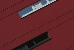 Arkitektoniskt specificera av en modern byggnad Arkivbild